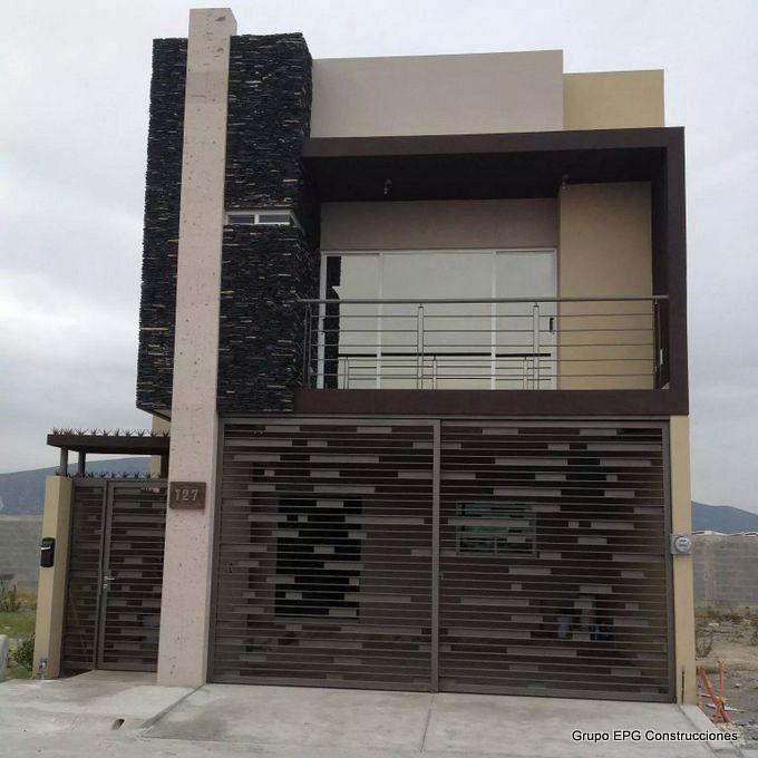 Grupo epg construcciones portones y puertas de herreria for Portones de fierro modernos